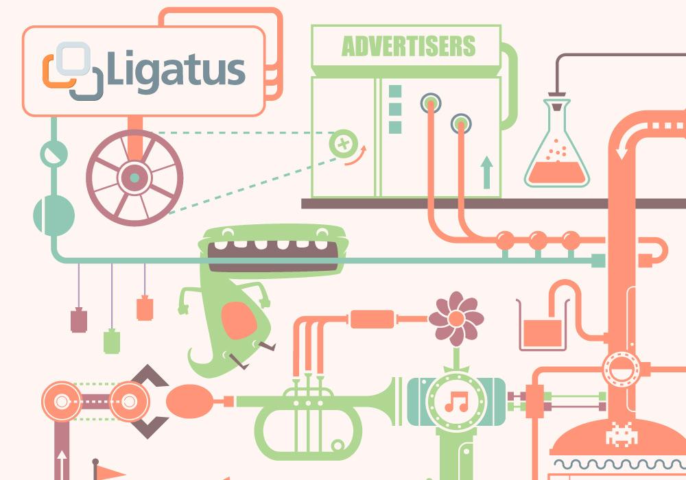 Graphic Design - Ligatus greeting card 2012 2