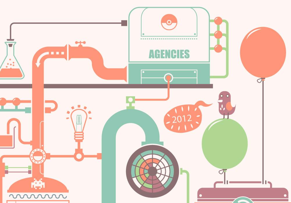 Graphic Design - Ligatus greeting card 2012 3
