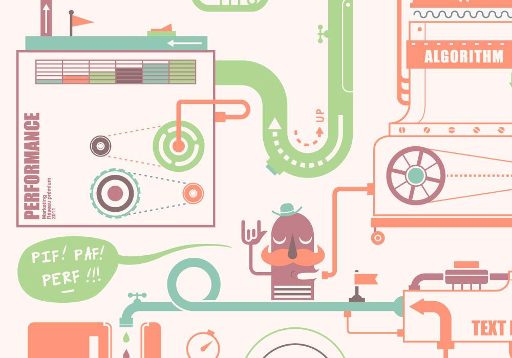 Graphic Design - Ligatus greeting card 2012 4