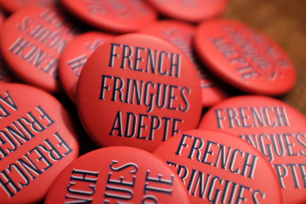 French Fringues - Badges