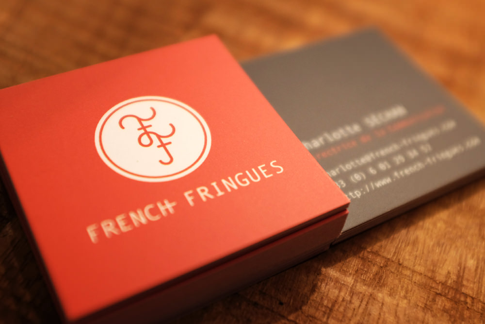 French Fringues - Business Cards 2