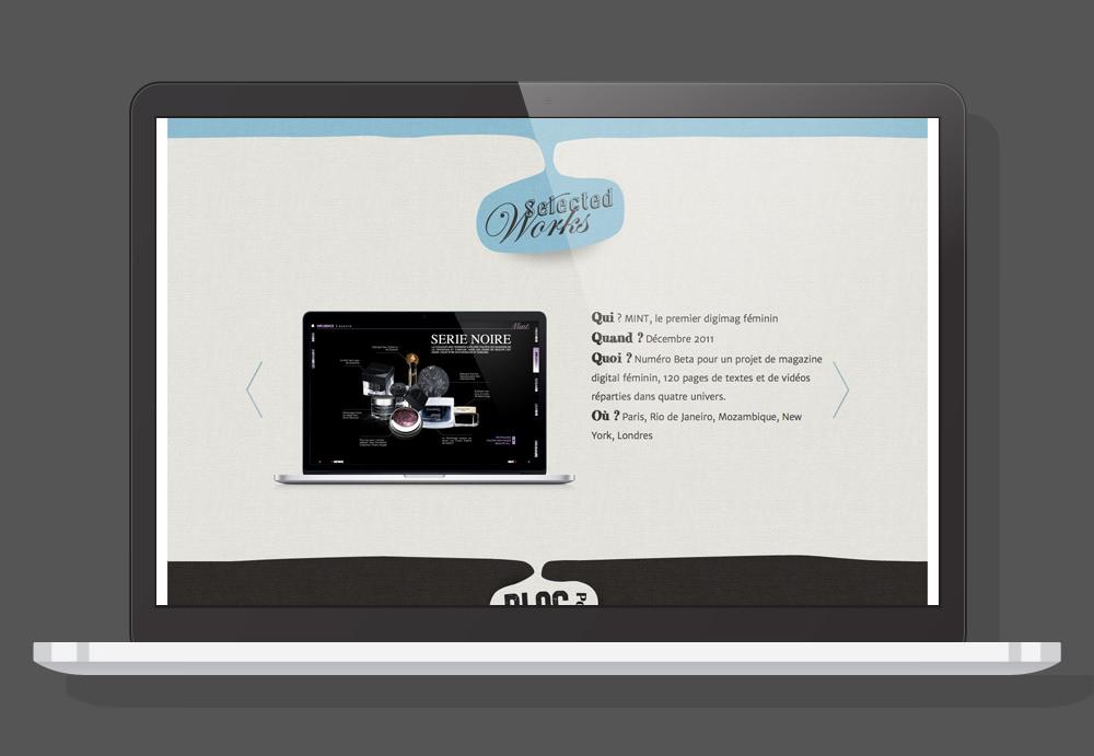 Website Responsive - Dixit l'agence Desktop 2