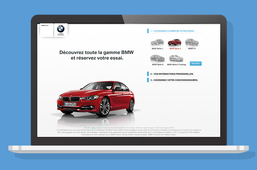BMW - Landing Page 1