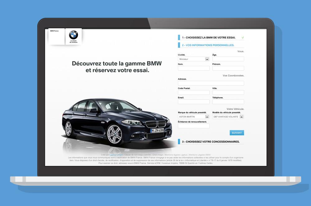 BMW - Landing Page 2