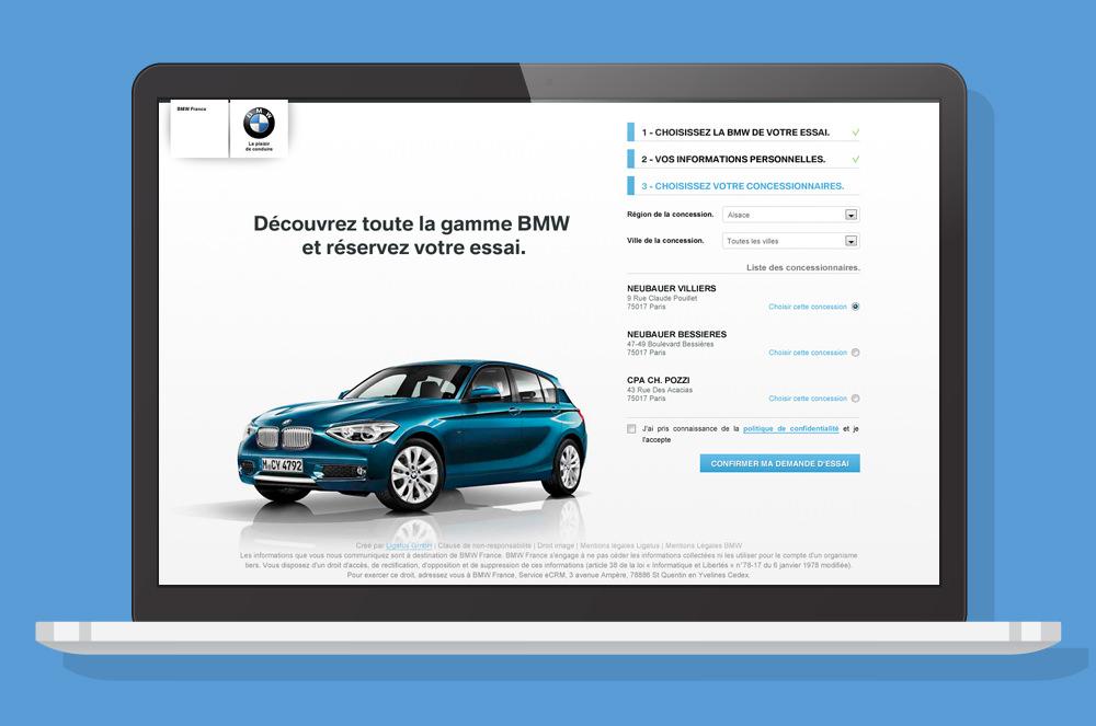 BMW - Landing Page 3